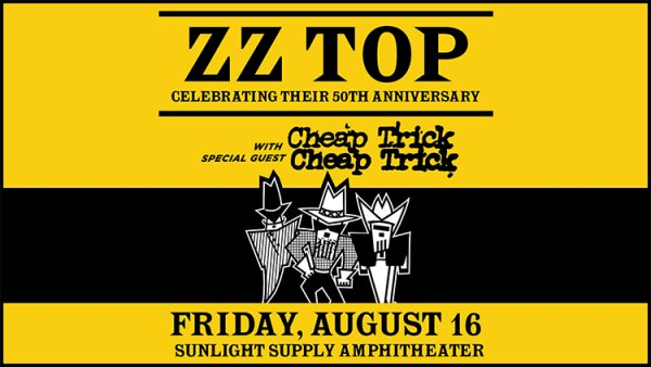 None - ZZ Top & Cheap Trick - 8/16 @ Sunlight Supply Amp
