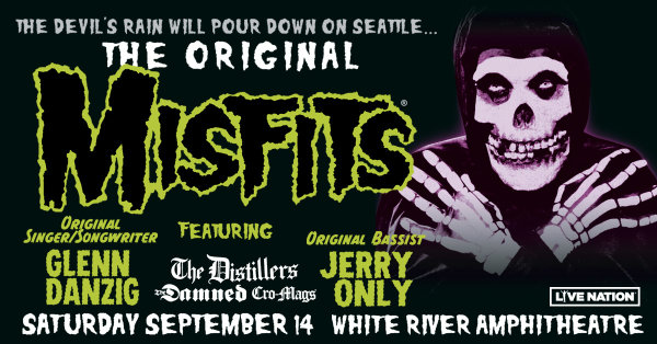 None - Misfits with The Distillers - 9/14 @ White River Amphitheatre