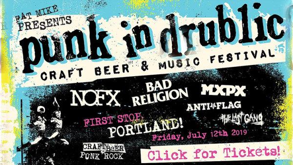 None - Punk in Drublic (NOFX, Bad Religion, MXPX, Anti-Flag) - 7/12