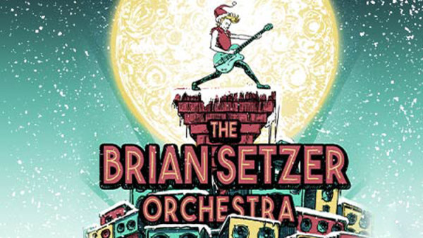 None - Win a pair of tickets to see the Brian Setzer Orchestra