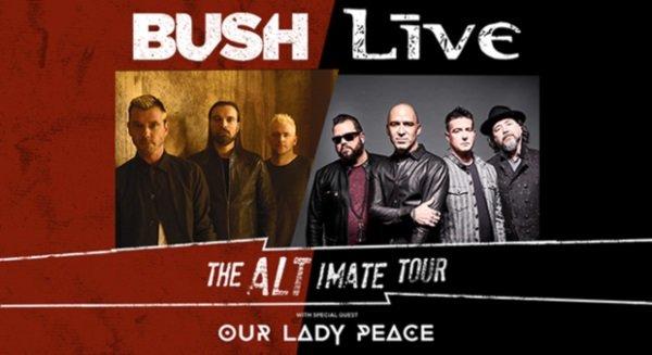 None - Bush & Live - 10/15 @ Memorial Coliseum