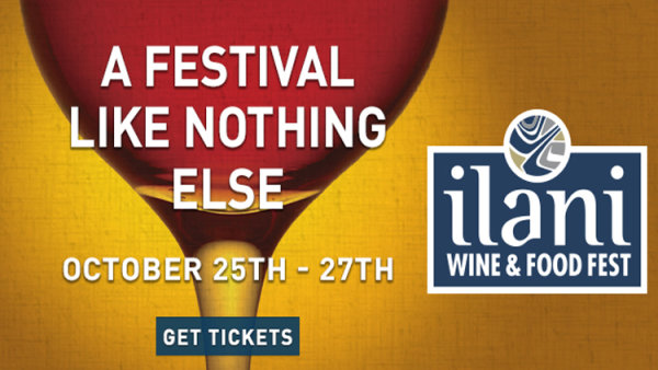 None - ilani's Winefest Weekend!