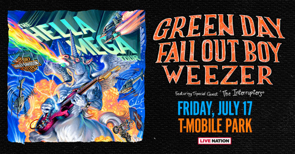 None - Green Day, Fall Out Boy, Weezer - 7/17 @ T-Mobile Park