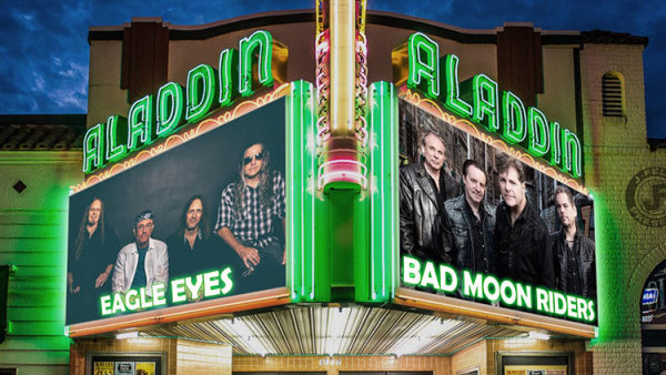 None - Eagle Eyes & Bad Moon Riders - 11/16 @ Aladdin Theater