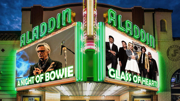 None - Night of Bowie & Glass Of Hearts - 10/19 @ The Aladdin Theater
