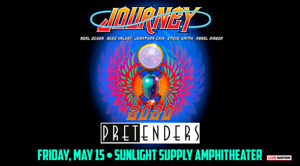 None - Journey & The Pretenders - 5/15 @ Sunlight Supply Amphitheater