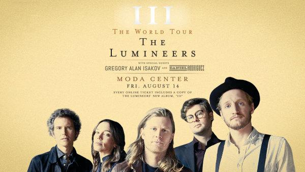 None - The Lumineers - 8/14 @ Moda Center