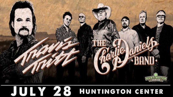 None - See Travis Tritt with Charlie Daniels at the Huntington Center!