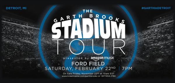 None - Enter to Win Garth Brooks Tickets!