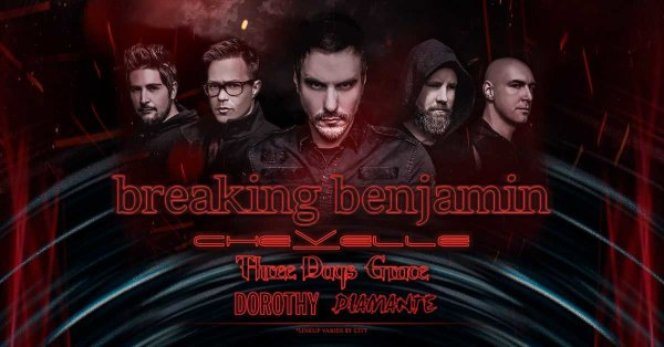 None - Win Breaking Benjamin Tickets!
