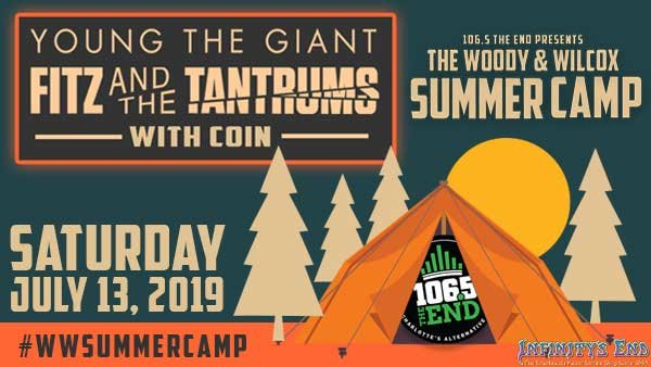 None -  Woody & Wilcox Summer Camp with Young The Giant & Fitz And The Tantrums