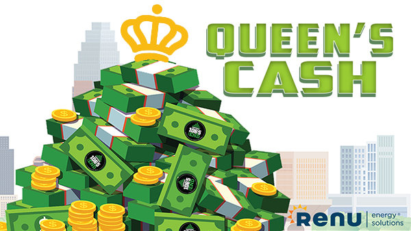 None - Queen's Cash: Listen to Win $1,000 Every Hour!