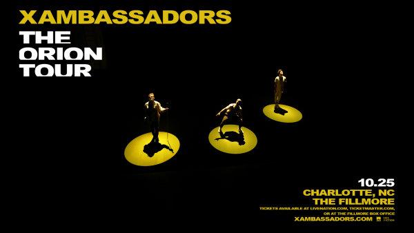 None - Win X Ambassadors Tickets!