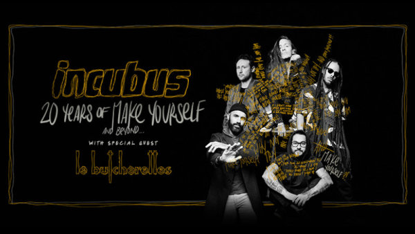 None - Win a pair of tickets to see Incubus