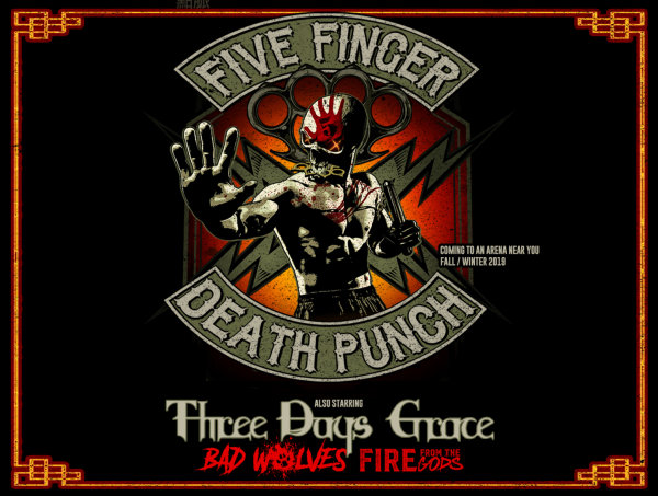 None - Win Five Finger Death Punch Tickets!