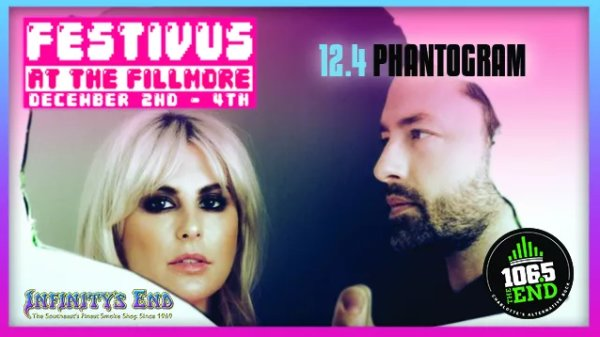 None - Win Festivus at the Fillmore Tickets with Phantogram!