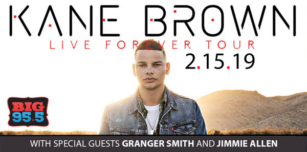 None -  Enter for your chance to win tickets to see Kane Brown at the BMO Harris Bank Center on 2.15.19!