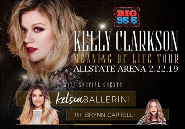 None -  Enter for your chance to win 2 tickets to see Kelly Clarkson and Kelsea Ballerini at Allstate Arena on 2.22.19!