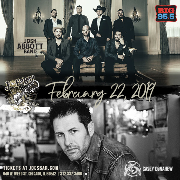 None -  Enter for your chance to win tickets to see Josh Abbott Band & Casey Donahew on 2.22.19!