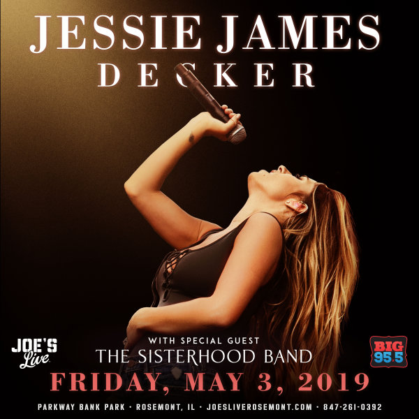 None - Enter for your chance to win tickets to see Jessie James Decker at Joe's Live on  5.3.19!