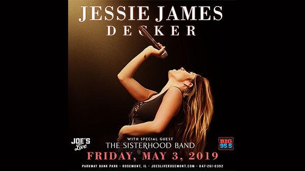 None -  Win Tickets: Jessie James Decker at Joe's Live on  5.3.19!