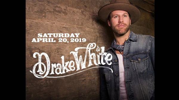 None -  Win Tickets: Drake White at Joe's on Weed St. on 4.20.19!