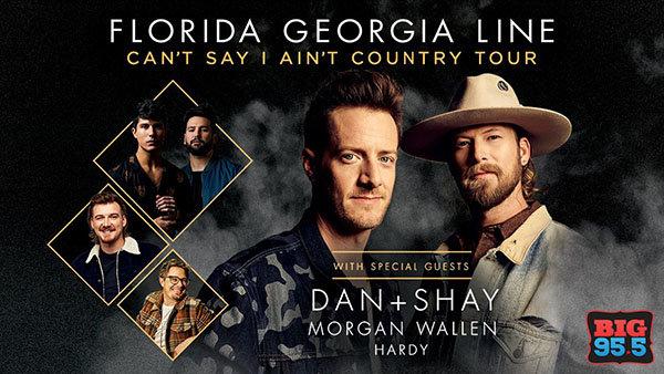 None -  Win Tickets: Florida Georgia Line at Hollywood Casino Amphitheare on 8.9.19!