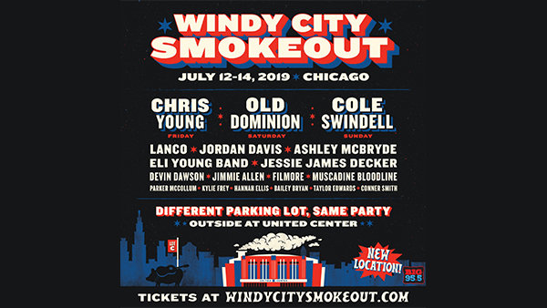None -      Win Tickets: 3-Day passes to Windy City Smokeout 2019!