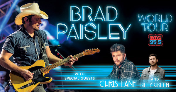 None -   Win Tickets: Brad Paisley at the Hollywood Casino Ampitheatre on 8.3.19!
