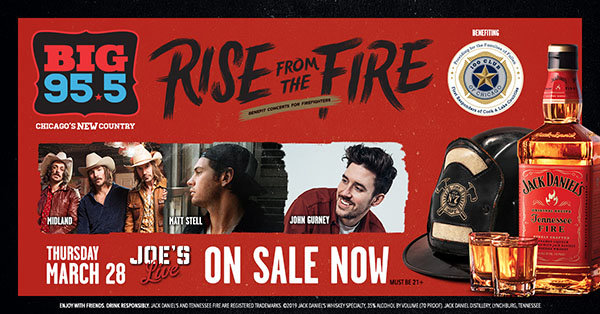 None - Win Tickets: Rise From the Fire on 3.28.19 at Joe's Live!
