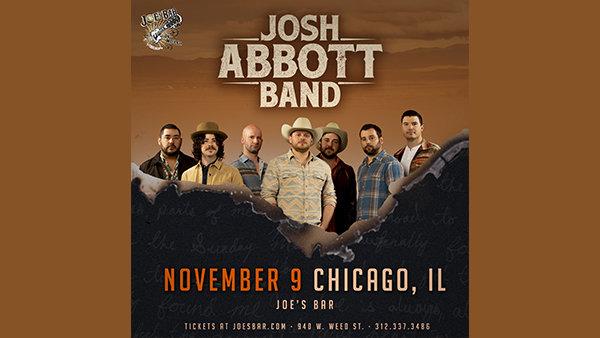 None - Win Tickets: Josh Abbott Band at Joe's on Weed St. on 11.9.19!