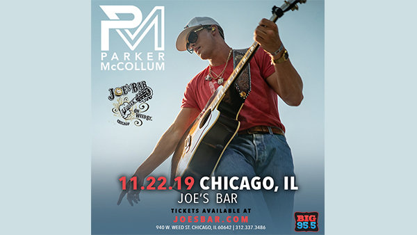 None - Win Tickets: Parker McCollum at Joe's on Weed St. on 11.22.19!