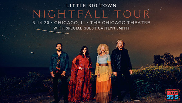 None - Win Tickets: Little Big Town at The Chicago Theatre on 3.14.20!