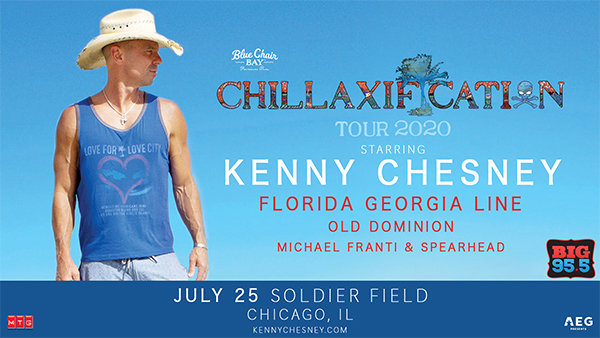 None - Win Tickets: Kenny Chesney at Soldier Field on 7.25.20!