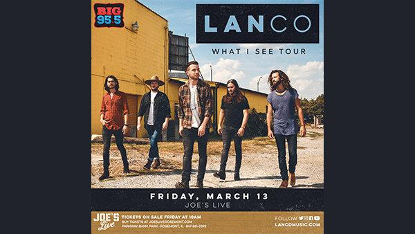 None - Win Tickets: Lanco at Joe's Live on 3.13.20