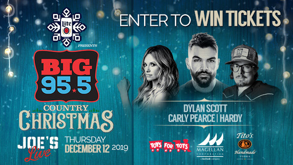 None - Win Tickets: BIG Country Christmas at Joe's Live on 12.12.19