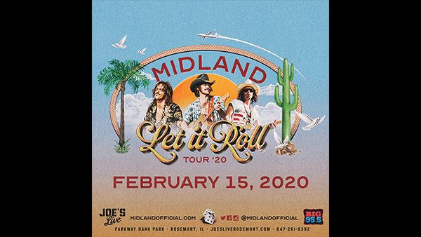 None - Win Tickets: Midland at Joe's Live on 2.15.20