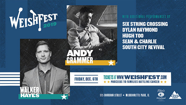 None - Win Tickets: Walker Hayes at WeishFest at 115 Bourbon Street on 12.6.19