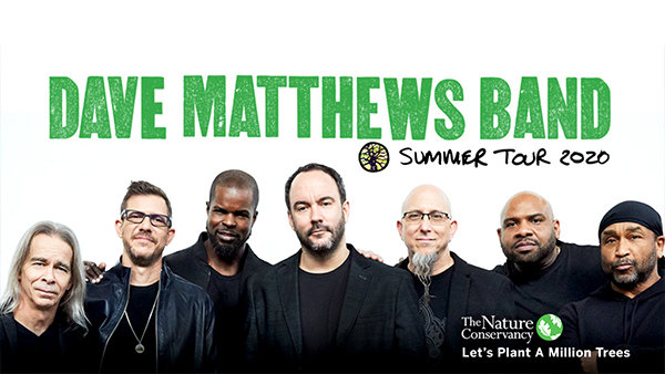 image for Win Tickets: Dave Matthews Band on 6.27.20 at Huntington Bank Pavilion at Northerly Island