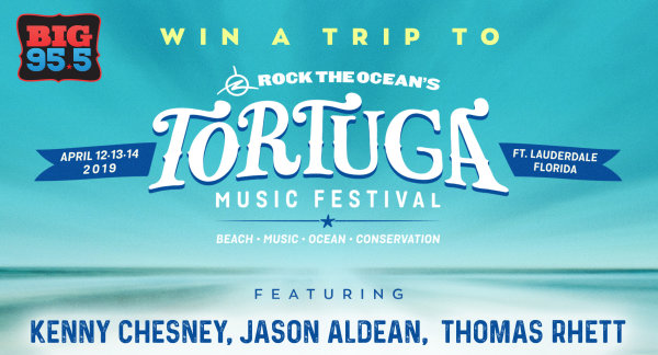 None -   Enter for your chance to win a trip to Tortuga Music Festival in Ft. Lauderdale April 12th-14th, 2019!
