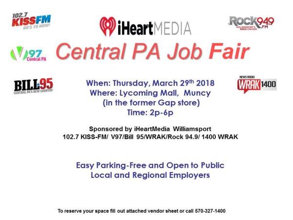 None - 2019 Central PA Job Fair!