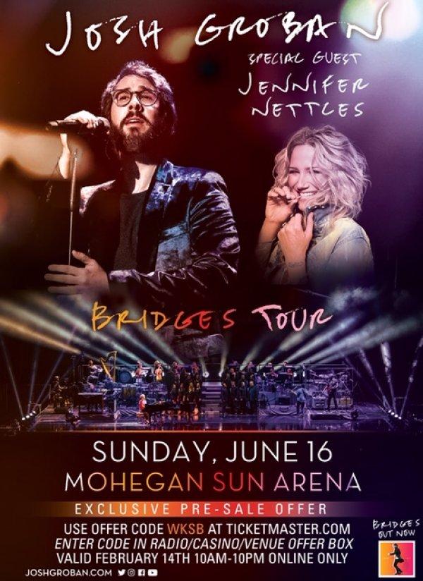 None - Josh Groban at the Mohegan Sun Arena!