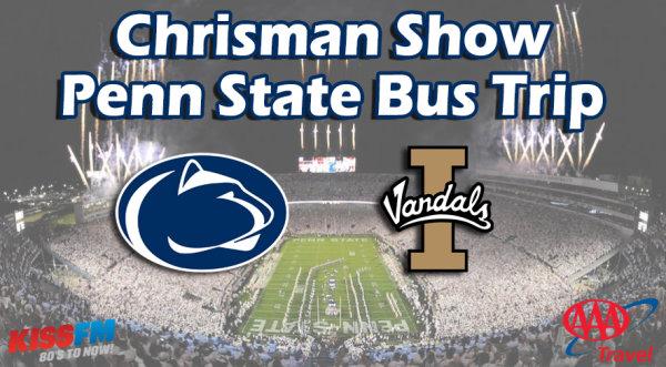 None - Chrisman Show Penn State Bus Trip!
