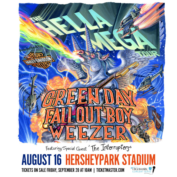 None - Hella Mega Tour at Hersheypark Stadium!