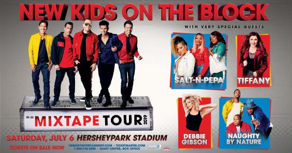 None - New Kids On The Block at Hersheypark Stadium!