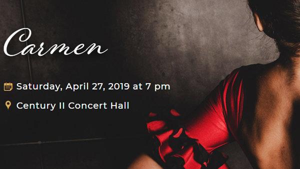 None - Win Tickets to Wichita Grand Opera's Carmen!