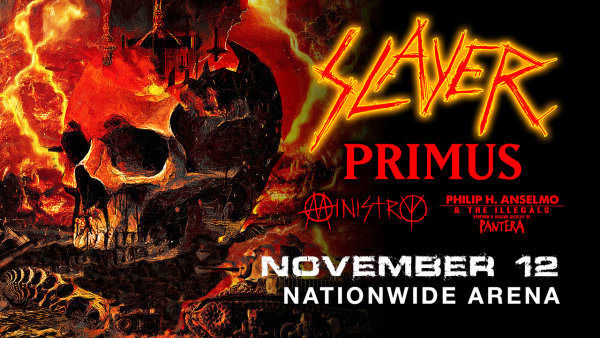 None - See SLAYER with PRIMUS