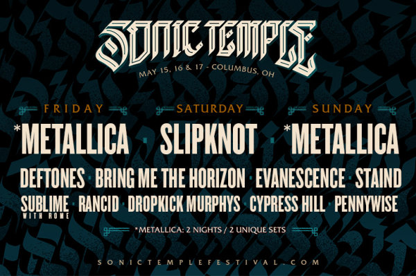 image for Sonic Temple Music Fest 2020
