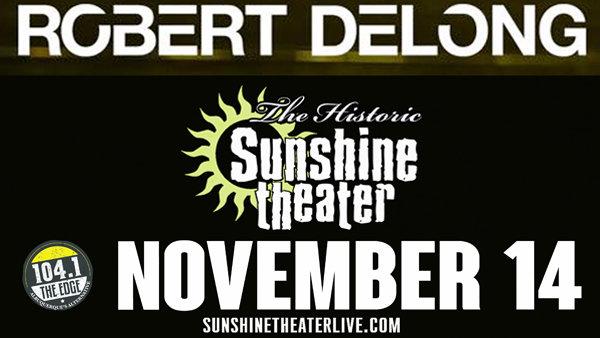 None - Win Robert Delong Tickets