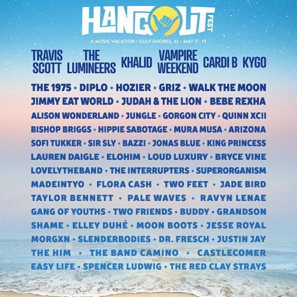 None - Win A Trip To The Hangout Festival with 104.1 The Edge